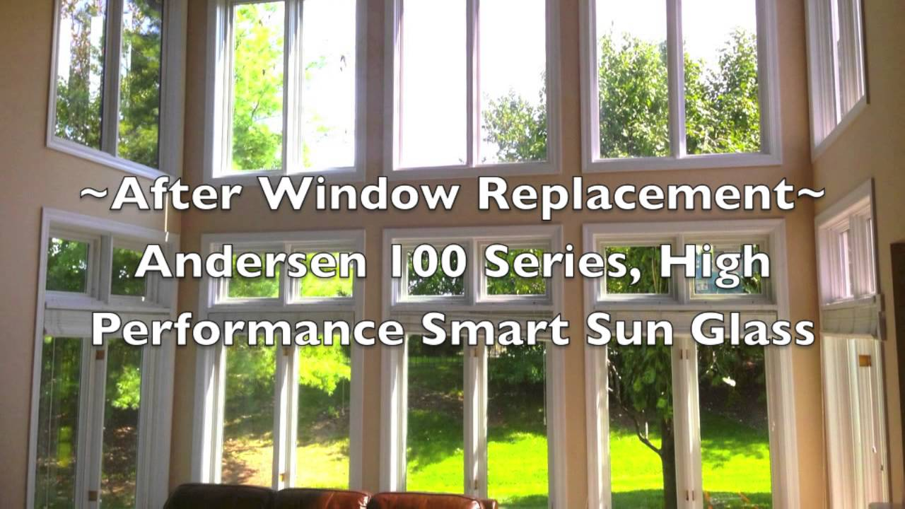 how to clean andersen 100 series windows