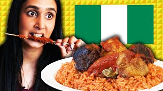 Americans Try Nigerian Food