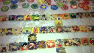 Coleccion De Tazos Yokos Dragon Ball Z,Ranma 1/2,Pokemon Y Mas