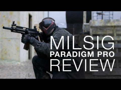 IS THIS THE DEFINITIVE MAG-FED PAINTBALL MARKER? - MILSIG Paradigm Pro Review