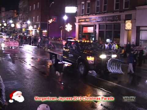 Morgantown (WV) Jaycees 2012 Christmas Parade