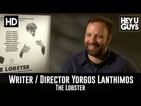 Writer / Director Yorgos Lanthimos Exclusive Interview - The Lobster