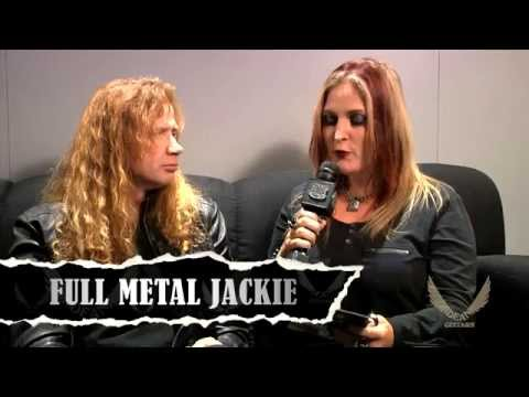 Dean Guitars N.A.M.M. 2015 Highlights -  Dave Mustaine Interview w/Ful...