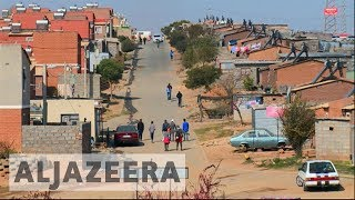 South Africa government blamed as millions live in shacks