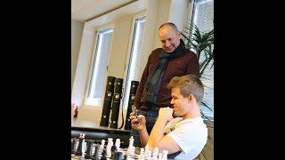 Magnus Carlsen Plays Chess with Magnus Age 9 on Play Magnus App