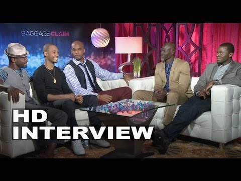 Baggage Claim: Taye Diggs, Terrence Jenkins, Boris Kodjoe, Djimon Hounsou & Derek Luke Interview video