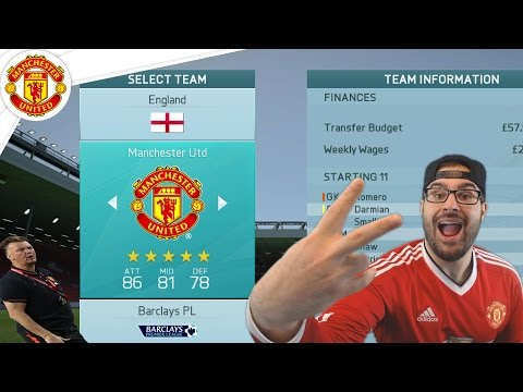 VAN GAAL SACKED - FIFA 16 Manchester United Career Mode #25