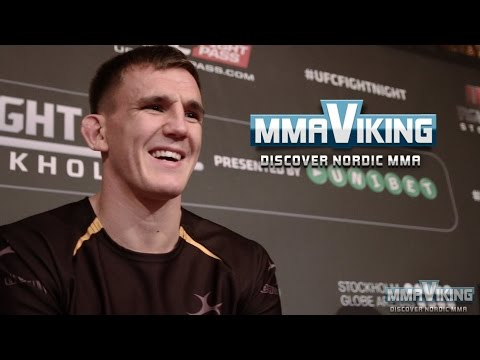 Scott Askham UFC Sweden 3 Pre Fight Interview