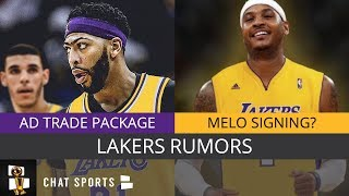 Lakers Rumors: Anthony Davis Trade, Trade Deadline Targets, Melo Signing With LA?