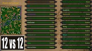 Warcraft 3 - 12 vs 12