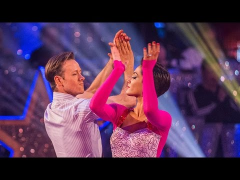 http://www.bbc.co.uk/strictly Frankie Bridge and Kevin Clifton dance the Paso Doble to 'America'.