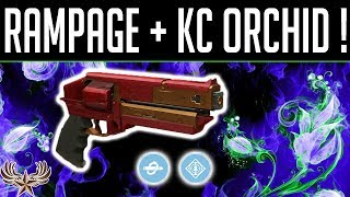 Rampage + KC Kindled Orchid: 42-0 in 2 games!