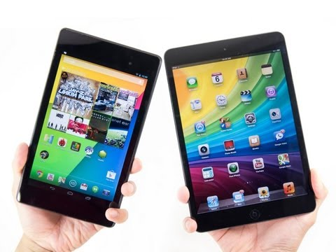 Google Nexus 7 (2013) vs Apple iPad mini