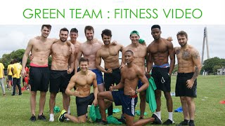 The Green Team Fitness Video : Mr World 2016