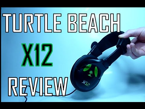 Turtle Beach EarForce X12 Gaming Headset   Review + Specs