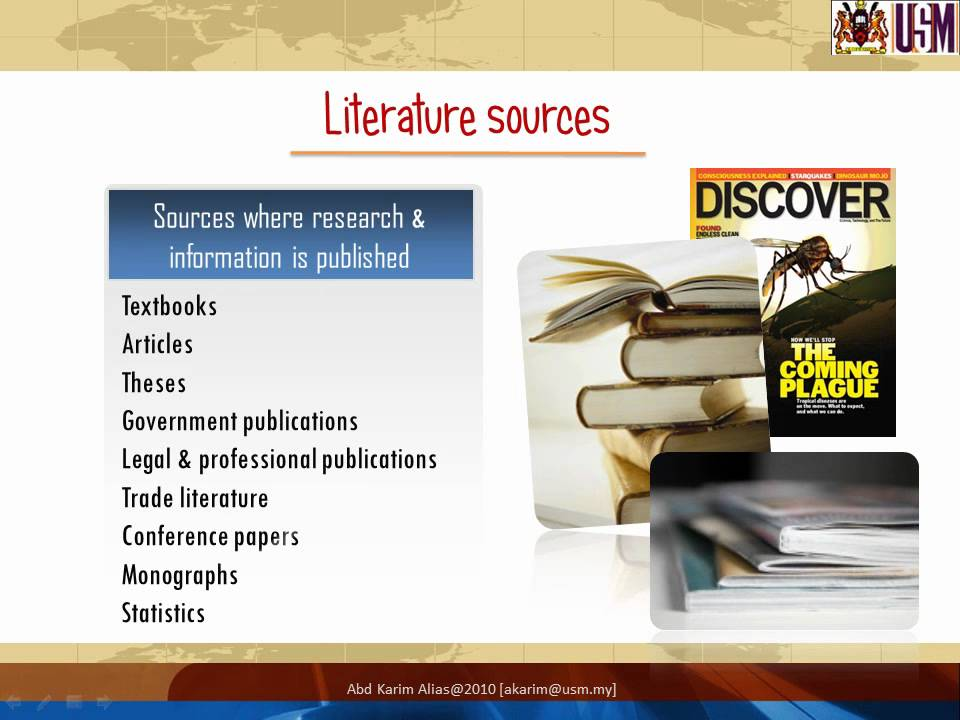 Masters Thesis Literature Review