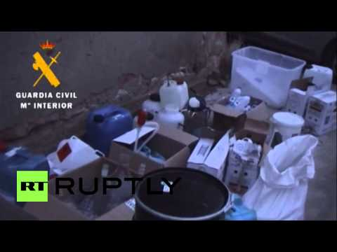 Spain: Real-life Breaking Bad! 65-year old teacher busted in meth lab sting