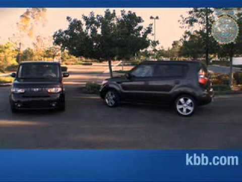 Kia Soul & Nissan Cube Go Head to Head - Kelley Blue Book