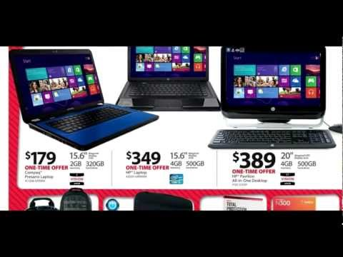 Walmart Black Friday Ad 2012 Instore Deals Starts Nov 22, 2012