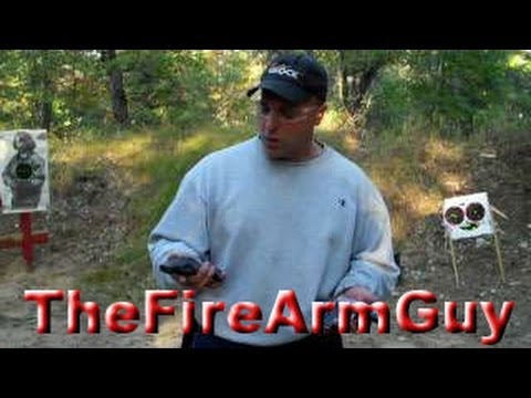 Kahr CM9 and Ruger LC9 Shooting Targets - TheFireArmGuy