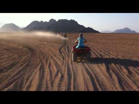 Quadami po pustyni 02  Sharm El Sheikh - Egipt