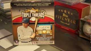 Lucky Birthday box of 2011 Topps Triple Threads Baseball - JOEY!!
