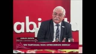 Carlos Zapata, precandidato a diputado nacional, en Agenda Abierta