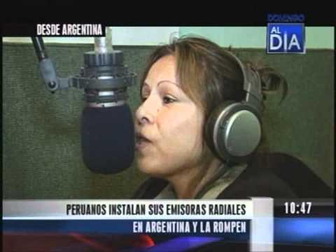 PERUANOS EN ARGENTINA - RADIO MASTER.AVI