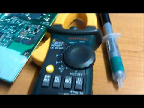 HP Pavilion f1723 Monitor PSU Capacitor Replacement