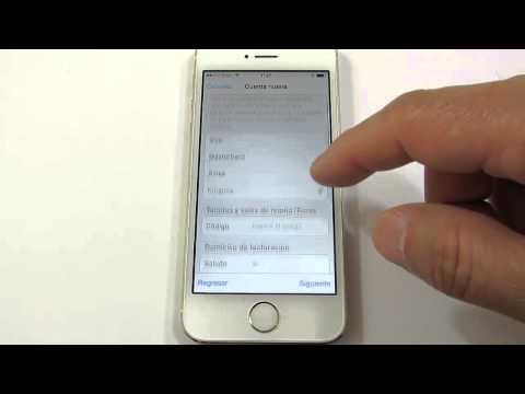 iPhone 5s: Crear cuenta de Apple sin tarjeta de crédito y descargar aplicaciones
