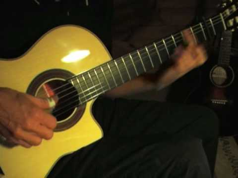 House of the Rising Sun - Charlie Byrd Style Solo Jazz Guitar