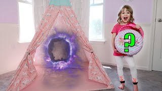 I Mailed Myself to L.O.L. Surprise for Ohh La La Babies Through a TeePee Portal and It WORKED! Skit