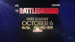 WWE Battleground 2013 Promo Official (HD)