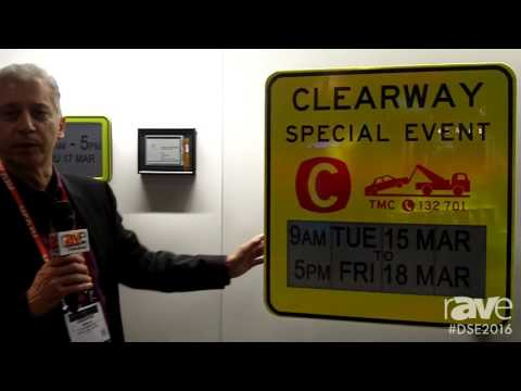 DSE 2016: Eink Highlights Traffic Signage Solar Cell Display Solutions