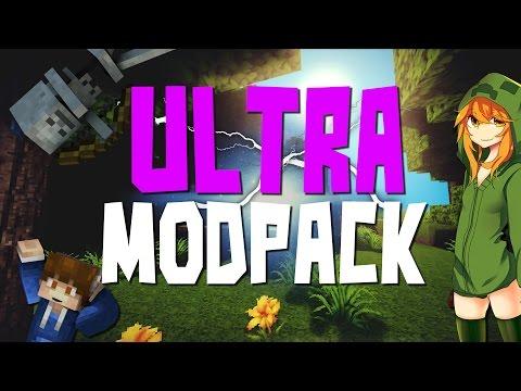ULTRA MODPACK 1.7.10 (+50 Mods)    Pack de Mods #8   Review + Instalación - Vikmax