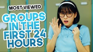 MOST VIEWED KPOP GROUPS MUSIC VIDEOS IN THE FIRST 24 HOURS