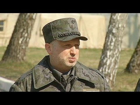 Turchynov rejects Russian call for Ukraine to become federal state
