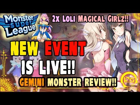 Monster Super League UPDATE!! FIRST LOOK AT THE NEW PATCH!! NEW GEMINI EVENT!! +DRUNK MONSTER REVIEW