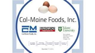 Cal-Maine Foods - Fall 2014 Presentation