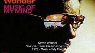 Watch Stevie Wonder Happier Than The Morning Sun video