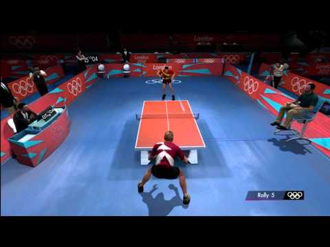 Men's Table Tennis | London 2012:The Olympic Games | XBOX 360 | Hard