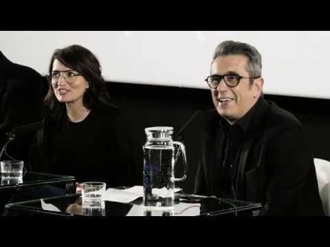 Rueda de prensa de Sílvia Abril, Andreu Buenafuente y Mariano Barroso sobre los Goya