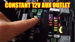 How To Make Your 12v OUTLET STAY ON Inside Your RAM Truck - TruckTalk #28
