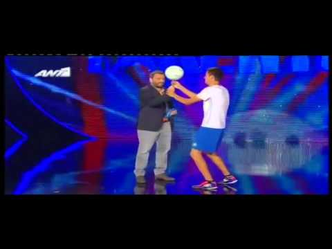 Ertil - Greek got talent/ Ellada exeis talento - Semi final (Freestyle Football)