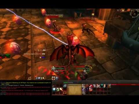 World of Warcraft WoD - Blackwing Lair raid (patch 6.0.2)