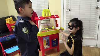 I MAILED MYSELF to Ryan ToysReview and it WORKED! Power Wheels Ride on CAR BATMAN vs JOKER (SKIT)
