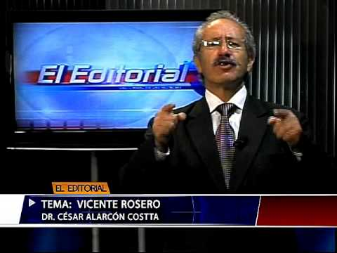 RTU Editorial: Vicente Rosero