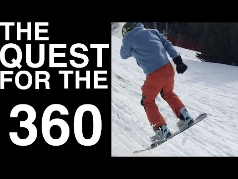 Snowboarding & Freelancing in the Mountains - The quest for the 360 - part 1