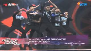Srigatif Manado  14 Besar The Dance Icon 2