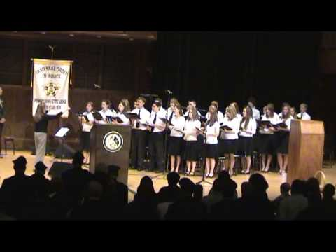 You raise me up by Harrisburg Christian School Choir